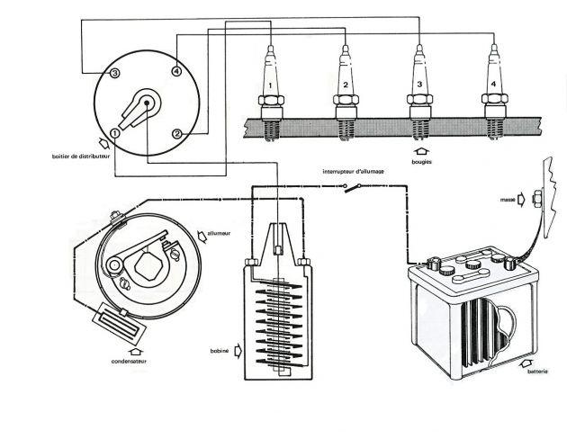 schema d u0026 39 allumage moteur a essence